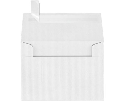 A1 Invitation Envelopes (3 5/8 x 5 1/8) White Groove