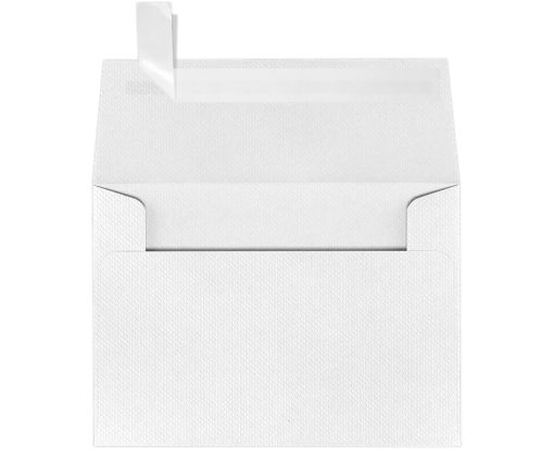 A1 Invitation Envelopes (3 5/8 x 5 1/8) White Pique