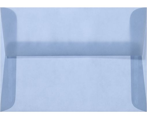 A2 Envelopes (4 3/8 x 5 3/4) Surf Translucent