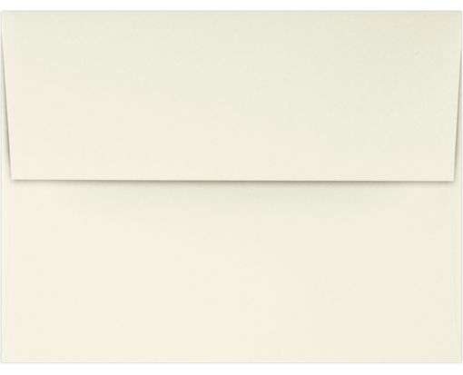 A2 Invitation Envelopes (4 3/8 x 5 3/4) 70lb. Classic Linen® Natural White