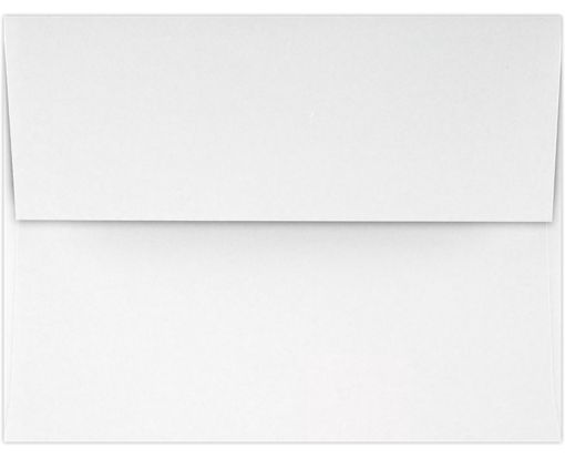 A2 Invitation Envelopes (4 3/8 x 5 3/4) 70lb. Classic Linen® Solar White