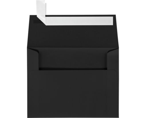 A2 Invitation Envelopes (4 3/8 x 5 3/4) Black Linen