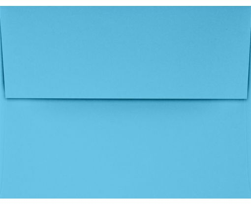 A2 Invitation Envelopes (4 3/8 x 5 3/4) Bright Blue
