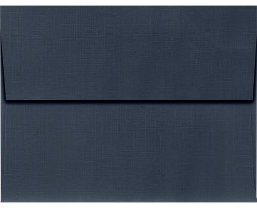 A2 Invitation Envelopes (4 3/8 x 5 3/4) Nautical Blue Linen