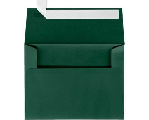 A2 Invitation Envelopes (4 3/8 x 5 3/4) Green Linen