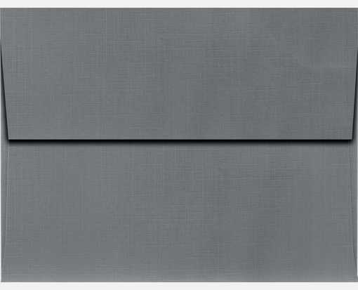 A2 Invitation Envelopes (4 3/8 x 5 3/4) Sterling Gray Linen