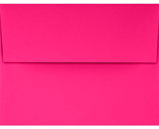A2 Invitation Envelopes (4 3/8 x 5 3/4) Bright Fuchsia
