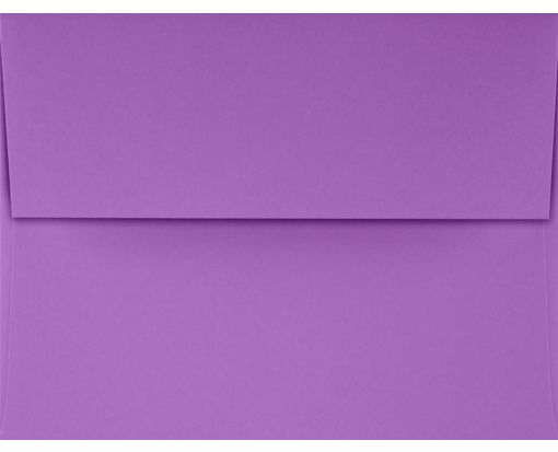 A2 Invitation Envelopes (4 3/8 x 5 3/4) Bright Violet