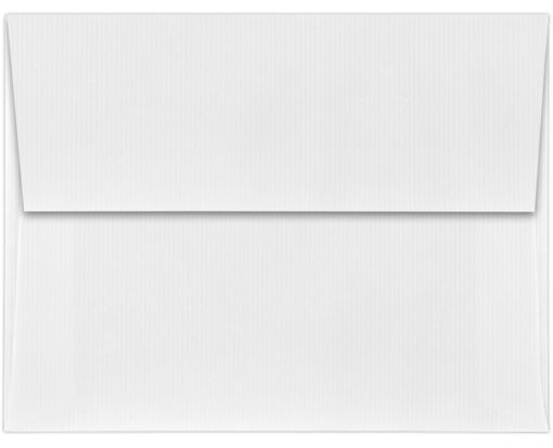 A2 Invitation Envelopes (4 3/8 x 5 3/4) White Groove