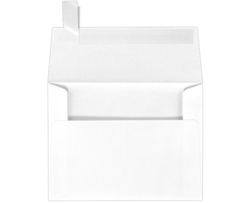 A2 Invitation Envelopes (4 3/8 x 5 3/4) White Linen