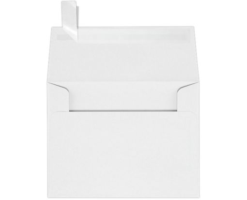 A2 Invitation Envelopes (4 3/8 x 5 3/4) 60lb. White w/Peel & Press™