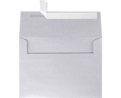A4 Invitation Envelopes (4 1/4 x 6 1/4) Silver Metallic