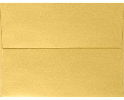 A4 Invitation Envelopes (4 1/4 x 6 1/4) Gold Metallic