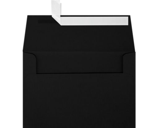 A4 Invitation Envelopes (4 1/4 x 6 1/4) Black Linen