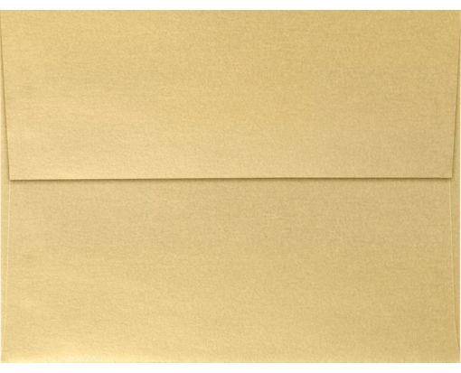 A4 Invitation Envelopes (4 1/4 x 6 1/4) Blonde Metallic