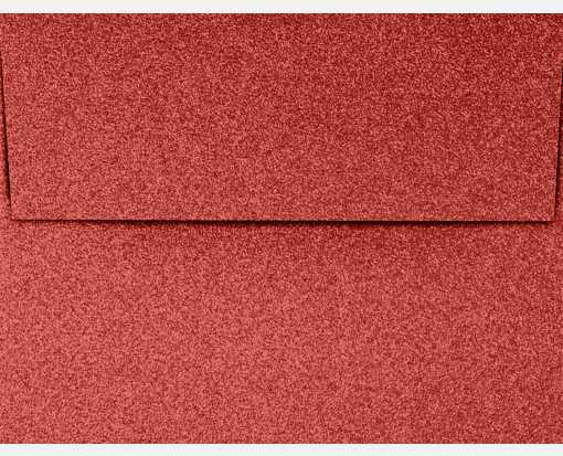 A4 Invitation Envelopes (4 1/4 x 6 1/4) Holiday Red Sparkle