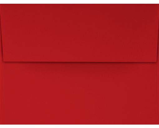 A4 Invitation Envelopes (4 1/4 x 6 1/4) Holiday Red
