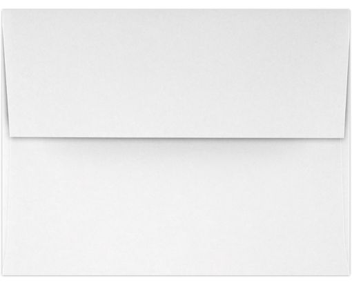 A4 Invitation Envelopes (4 1/4 x 6 1/4) Bright White - 100% Cotton
