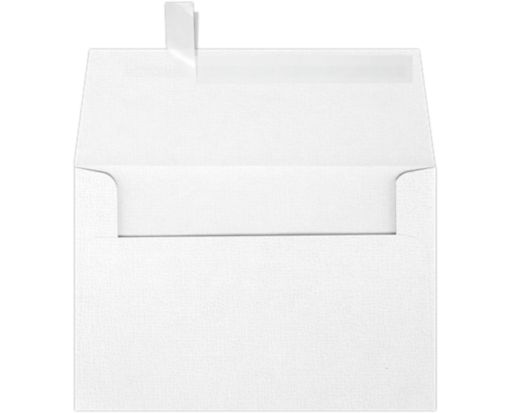 A4 Invitation Envelopes (4 1/4 x 6 1/4) White Canvas