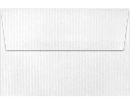 A4 Invitation Envelopes (4 1/4 x 6 1/4) White Groove