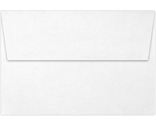 A4 Invitation Envelopes (4 1/4 x 6 1/4) White Linen