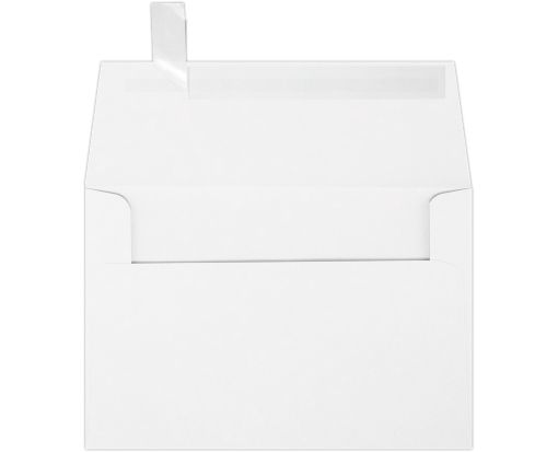 A4 Invitation Envelopes (4 1/4 x 6 1/4) 60lb. White w/Peel & Press™