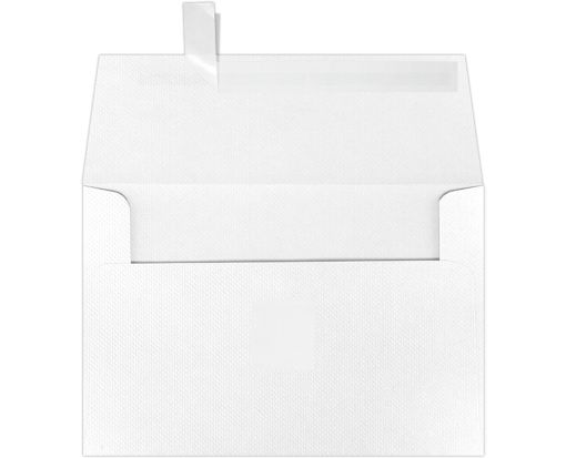 A4 Invitation Envelopes (4 1/4 x 6 1/4) White Pique