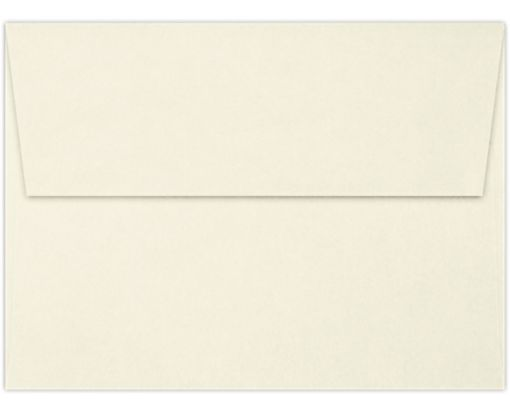 A6 Invitation Envelopes (4 3/4 x 6 1/2) 70lb. Classic Linen® Natural White