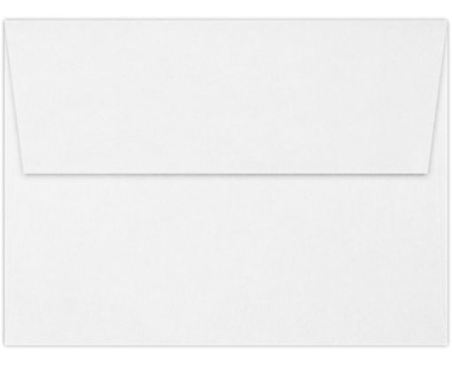 A6 Invitation Envelopes (4 3/4 x 6 1/2) 70lb. Classic Linen® Solar White