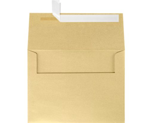 A6 Invitation Envelopes (4 3/4 x 6 1/2) Blonde Metallic