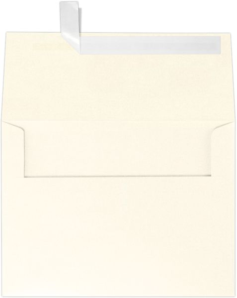 Champagne Metallic Gold A6 Envelopes | Square Flap | (4 3/4 X 6 1