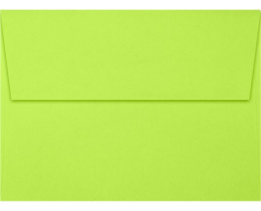 A6 Invitation Envelopes (4 3/4 x 6 1/2) Electric Green