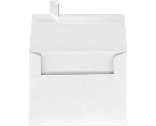 A6 Invitation Envelopes (4 3/4 x 6 1/2) White Canvas