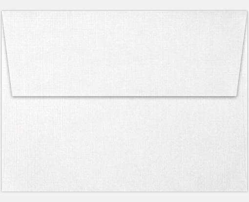 white linen a6 envelopes square flap 4 3 4 x 6 1 2. Black Bedroom Furniture Sets. Home Design Ideas