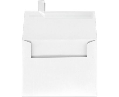 A6 Invitation Envelopes (4 3/4 x 6 1/2) White Linen