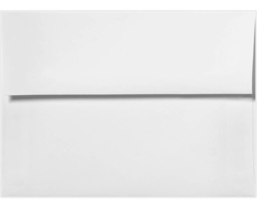 A6 Invitation Envelopes (4 3/4 x 6 1/2) White - 100% Recycled