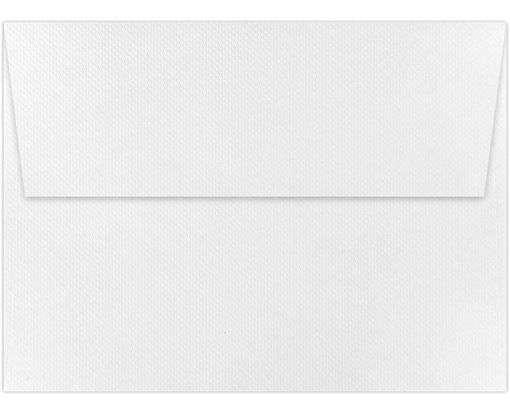 A6 Invitation Envelopes (4 3/4 x 6 1/2) White Pique