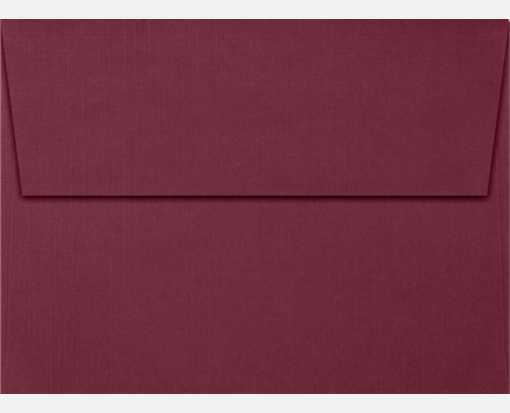 A7 Invitation Envelopes (5 1/4 x 7 1/4) Burgundy Linen