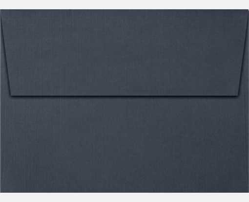 nautical blue linen a7 envelopes square flap 5 1 4 x 7 1 4