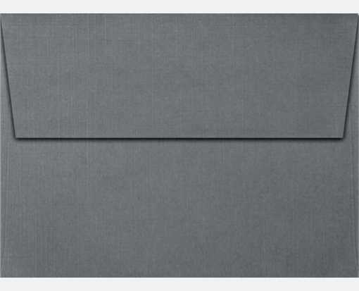sterling gray linen a7 envelopes square flap 5 1 4 x 7 1 4