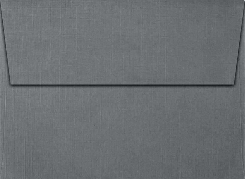 sterling gray linen a7 envelopes square flap 5 1 4 x 7 1 4