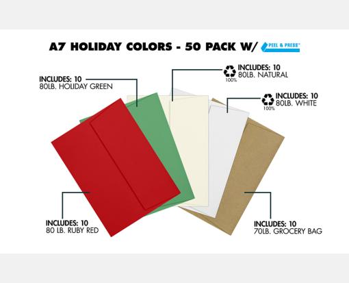 orted orted A7 Envelopes | Square Flap | (5 1/4 x 7 1/4 ... on