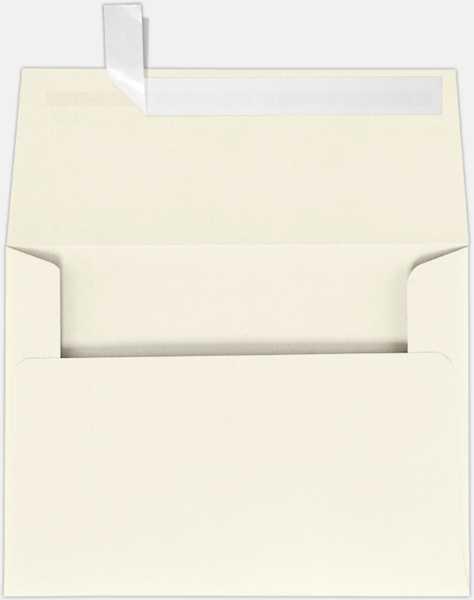 natural linen a7 envelopes square flap 5 1 4 x 7 1 4