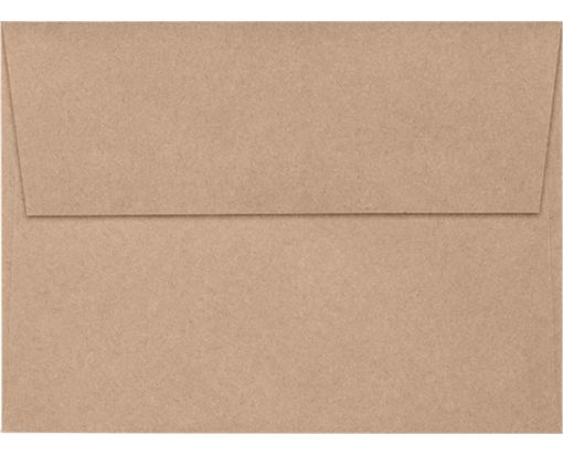 A7 Invitation Envelopes (5 1/4 x 7 1/4) Rolland Kraft - 24lb. Oatmeal