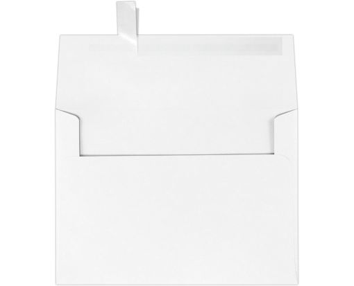 A7 Invitation Envelopes (5 1/4 x 7 1/4) Brilliant White - 100% Cotton
