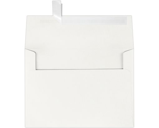 A7 Invitation Envelopes (5 1/4 x 7 1/4) 100% Cotton Natural White - 100% Cotton