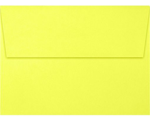 A7 Invitation Envelopes (5 1/4 x 7 1/4) Electric Yellow