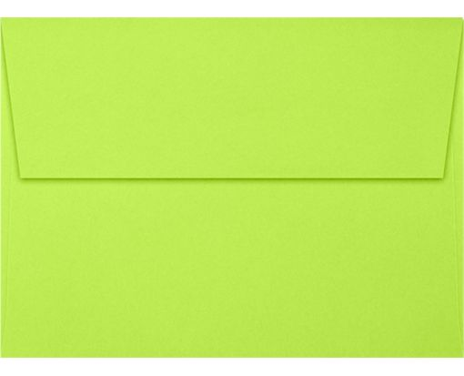 A7 Invitation Envelopes (5 1/4 x 7 1/4) Electric Green