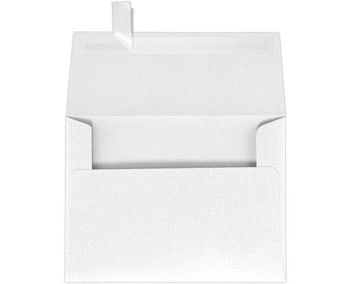 A7 Invitation Envelopes (5 1/4 x 7 1/4) White Canvas