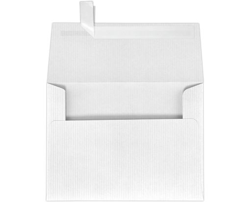 A7 Invitation Envelopes (5 1/4 x 7 1/4) White Groove